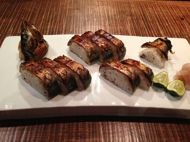 秋刀魚姿寿司