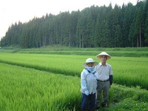 お米を作って下さる契約農家の方々